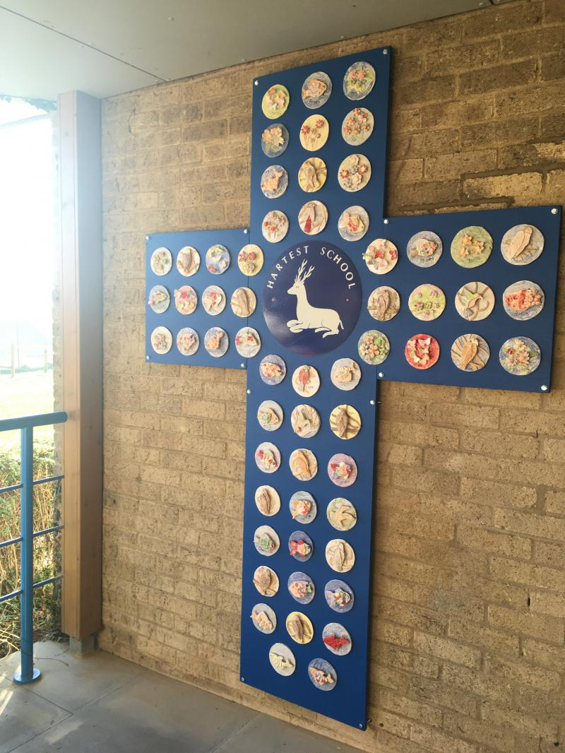 New installation for Hartest Primary School