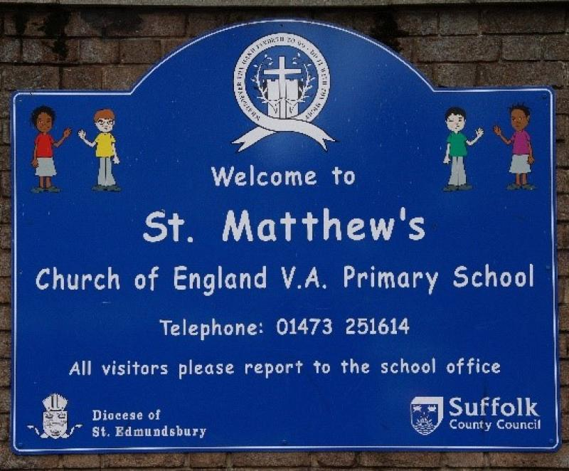 Picture - st mathews school sign