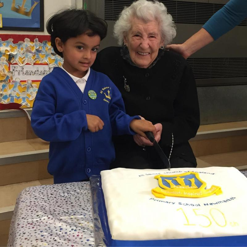 Oldest and youngest pupil 150th