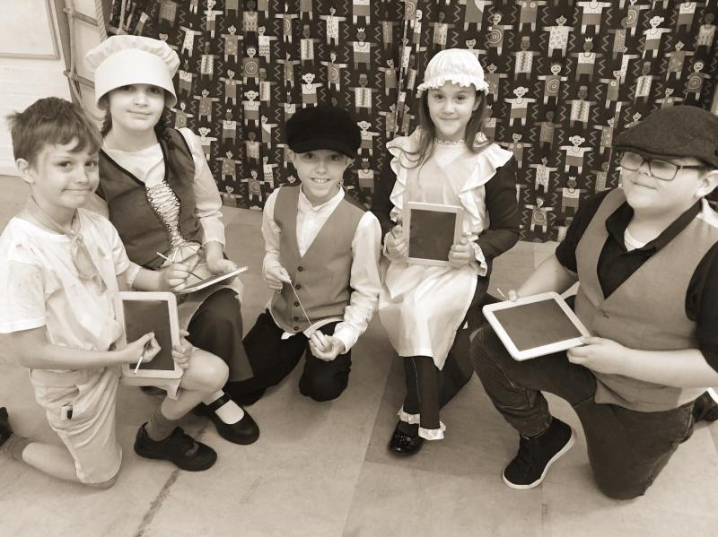 All Saints' Church of England Primary School Celebrates 150-year Birthday with Victorian School Day